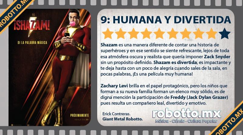 Reseña: ¡Shazam!