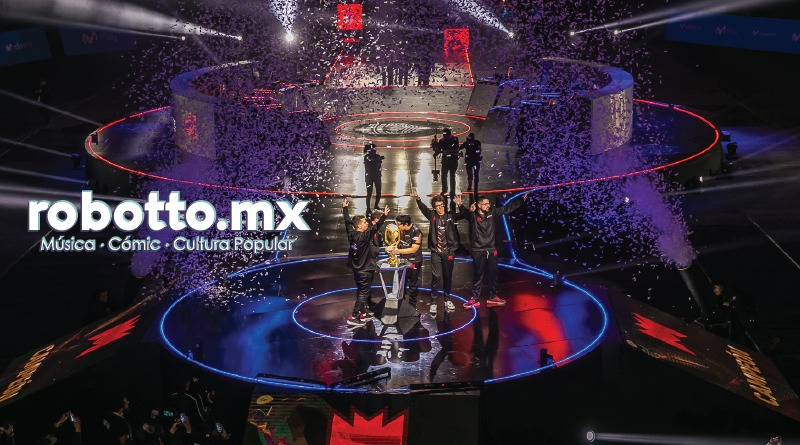 La Final de la Liga Movistar Latinoamérica de League of Legends.