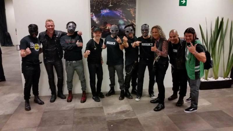 Halcón 7 y Metallica