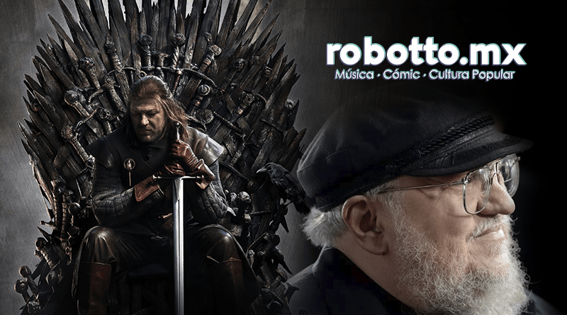George R.R. Martin y el final de los libros de Game of Thrones.