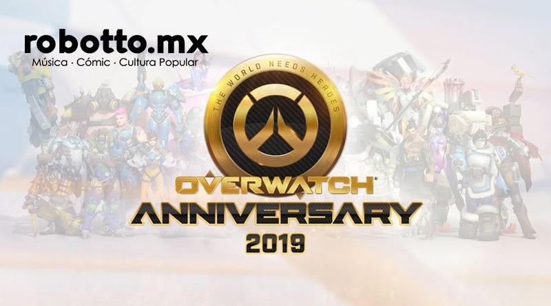 Overwatch 3er Aniversario: Un año más de grandes aventuras.