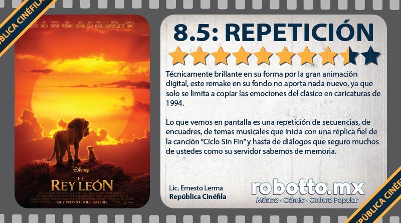 Reseña: El Rey León
