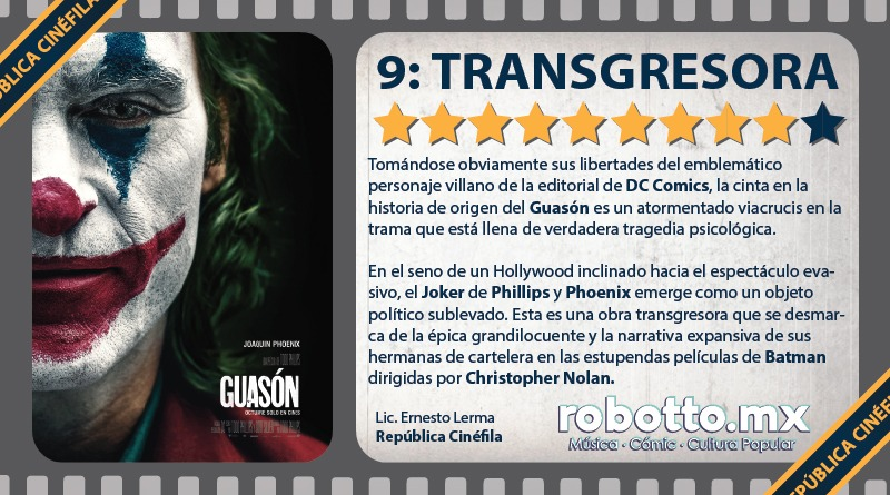Guasón - Joker 2019
