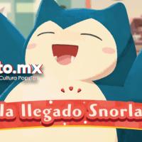 Forma un equipo con Snorlax en Pokémon Café Mix