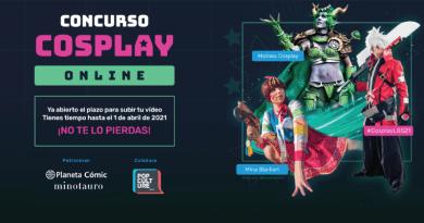 Concurso online de Cosplay