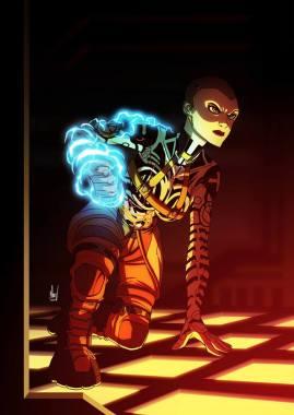 Mass Effect 2 fan art - Jack by Marvin Del Mundo