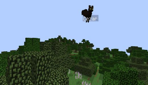 [Minecraft]コウモリをペットにしませんか? Pet Bat mod