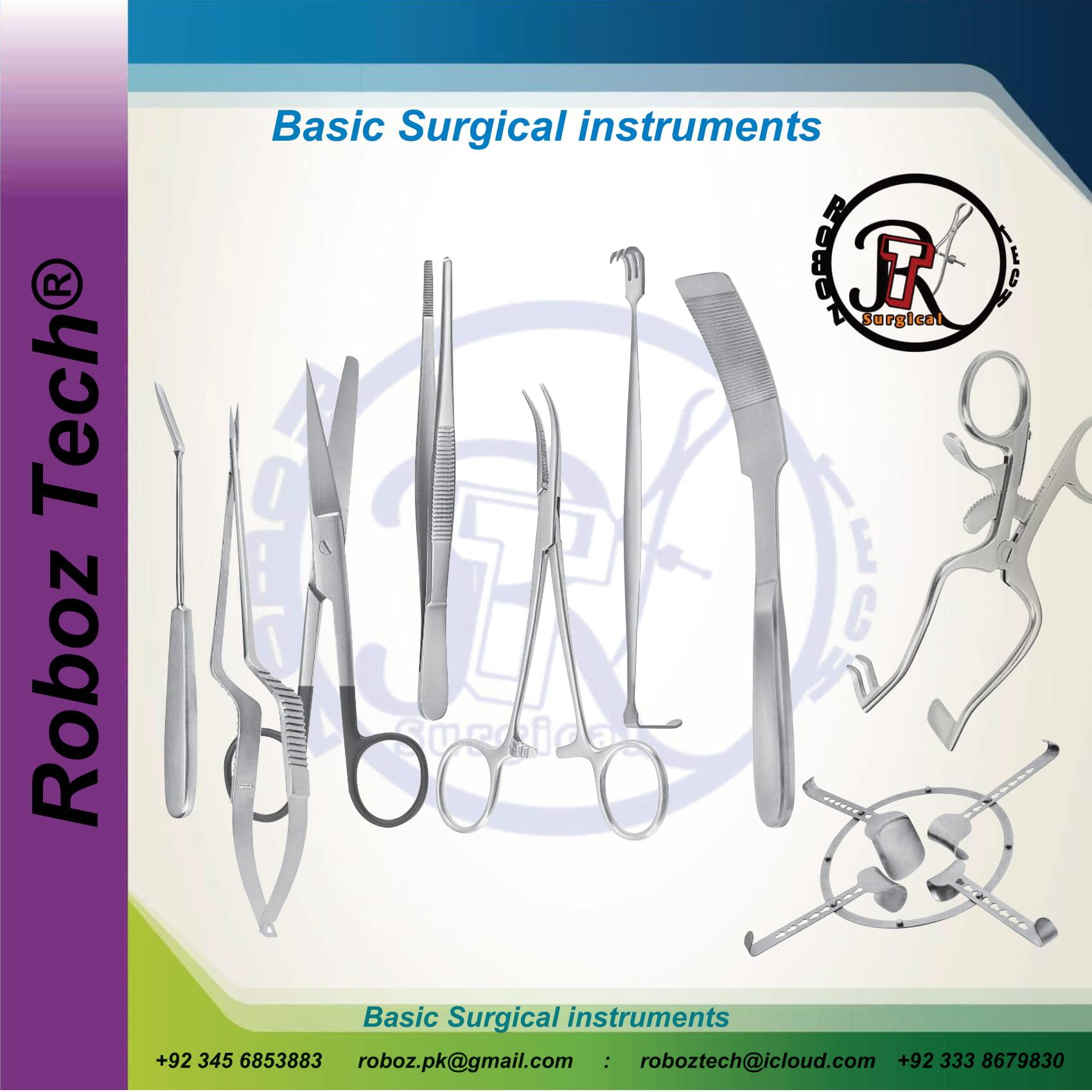 Basic Surgical instrument-1