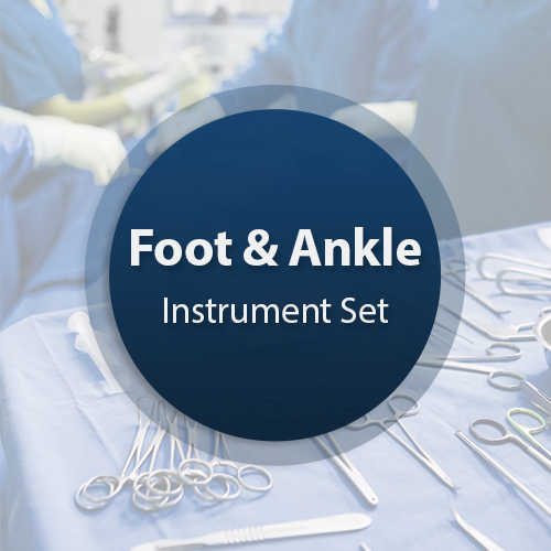 Foot-Ankle Surgical Instrument Set