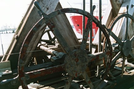 Old Machinery, Chelsea Piers