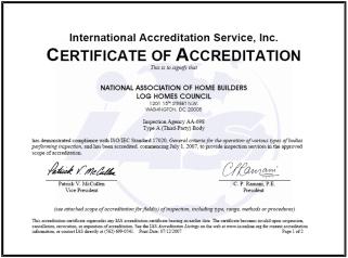 IAS Accreditation
