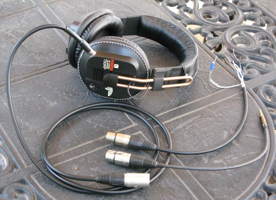 headphone wiring diagram rheem hot water system stuff my balanced cable setup with 4 pin mini xlr