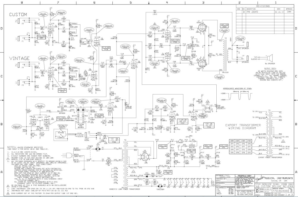 medium resolution of wiring light switch with pilot on fender 68 deluxe reverb schematic deluxe reverb wiring diagram