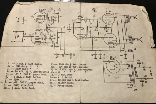 small resolution of this is an original fender model 26 deluxe schematic schematic provided by jimmy d