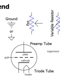 Common amp component symbols you can right click this graphic and select open image in new tab or save as to make it easier access while also reading schematics rh robrobinette