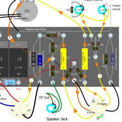 Car Capacitor Wiring Diagram Audio Lpg Switch How Amps Work