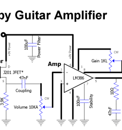 guitar volume pedal wiring buffer tube pre schematic guitar spring guitar pre schematic circuits as well electric guitar circuit diagram [ 1468 x 674 Pixel ]