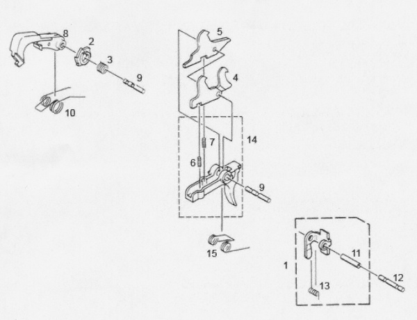 M16 Auto Sear Diagram. Parts. Wiring Diagram Images