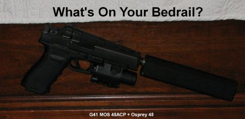 small resolution of long slide glock g41 mos modular optic system 45 acp with osprey 45 suppressor burris micro red dot sight tru glow tall see over the suppressor