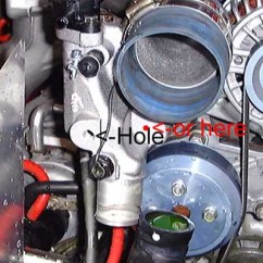 Nitrous Water Temp Gauge Wiring Diagram Devilbiss Spray Gun Parts If You Don T Want To Drill Into Your Thermostat Housing Install The Temperature Probe Can Throttle Body Coolant Lines By