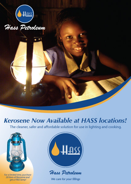 Hass Petroleum South Sudan Juba Advert 2009 by Rob Rooker