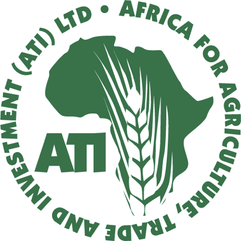 africa for agriculture trade and investmet (ATI) LTD logo by rob rooker