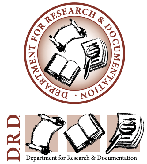 Department for Research & documentation logo by Rob Rooker