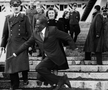 hitlermugabe #MugabeFalls