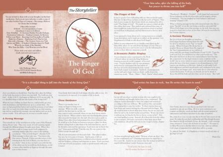 Finger of God, SIM, Lifechalleng