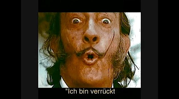 Salvador Dali – Ich bin verrückt nach Lanvin-Schokolade