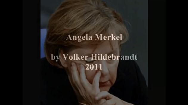 Volker Hildebrandt – Angela Merkel