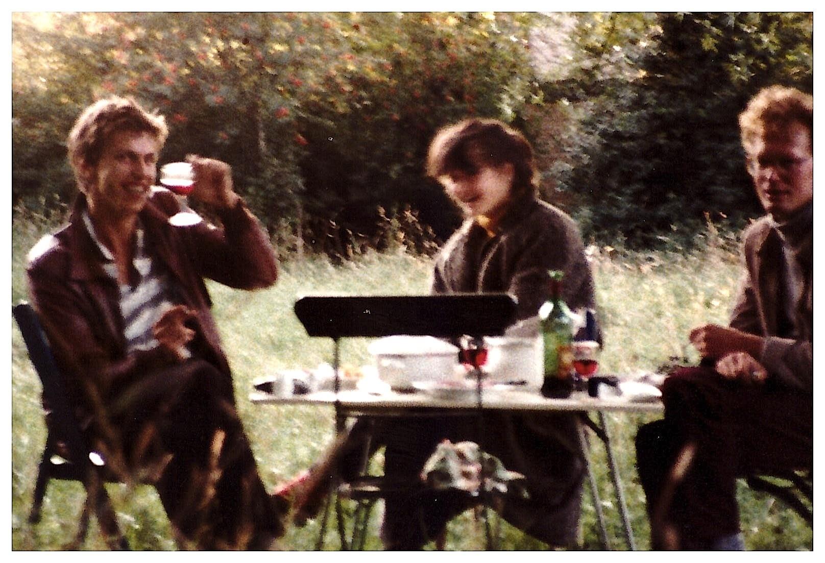 Rob Scholte, Sandra Derks & Edzard Dideric in Bergen NH