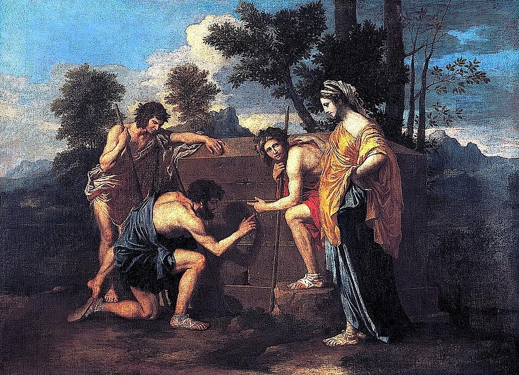 Nicolas Poussin – Et in Arcadia ego