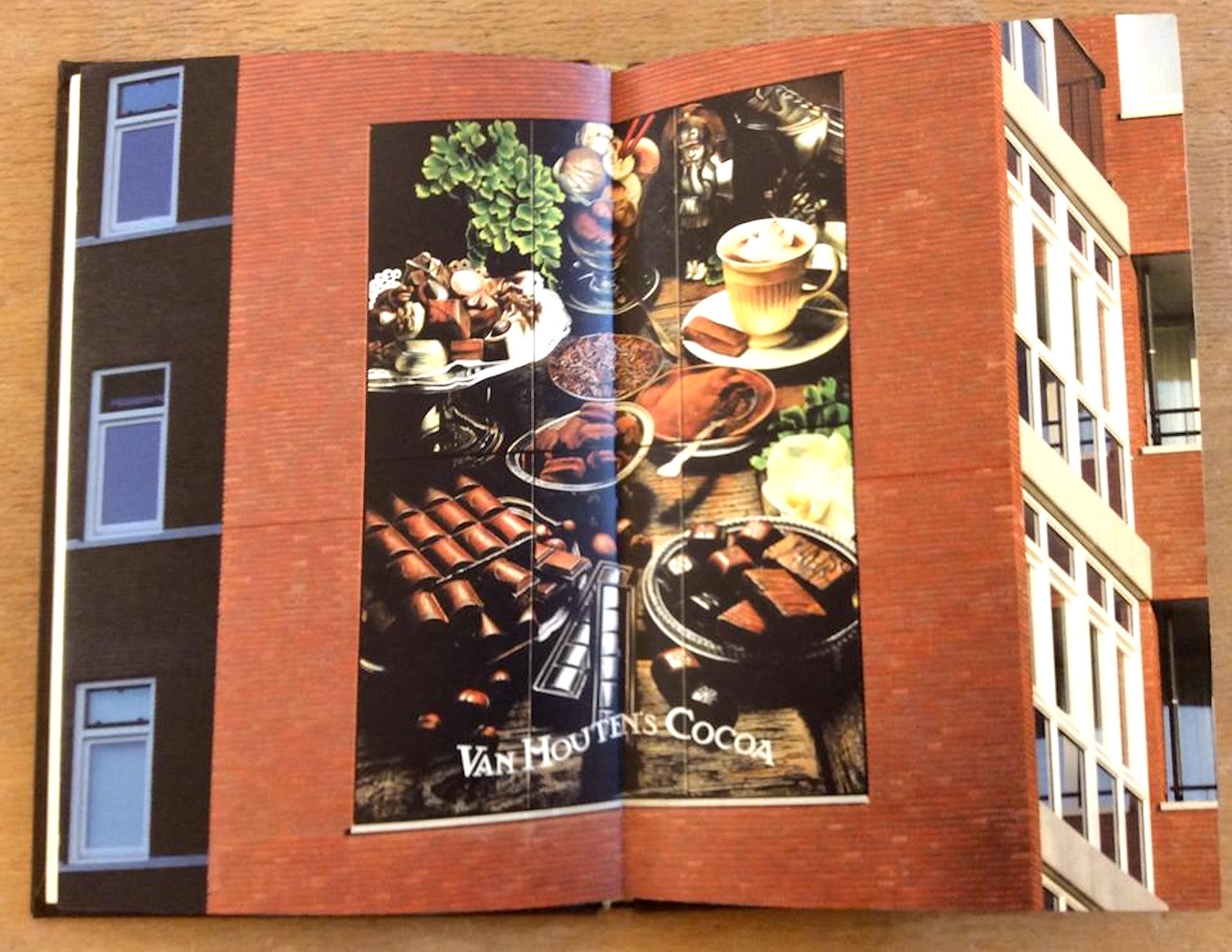 Rob Scholte – Hot chocolate (opengeslagen, twee pagina's binnenzijde)