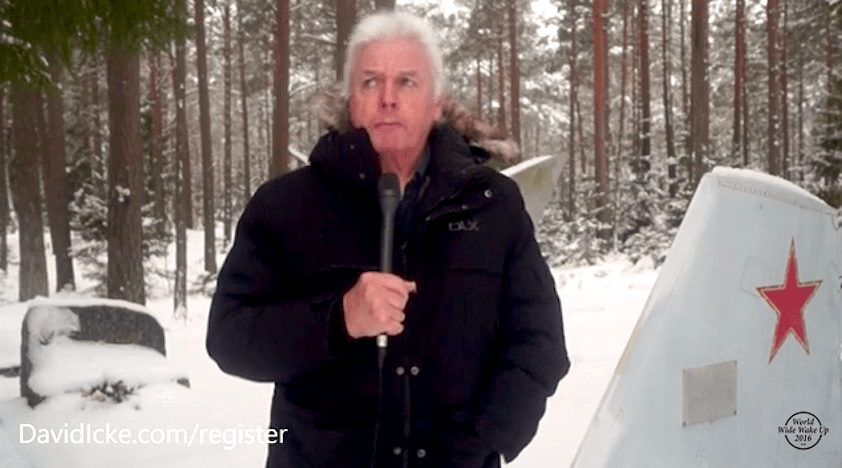 David Icke in Estonia