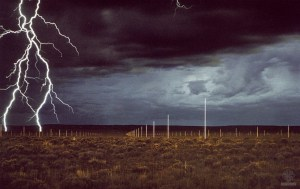 Afbeelding 7 Walter de Maria - Lightning field