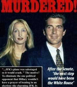 JFK jr. & wife MURDERED (foto ampuri.fi)
