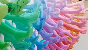 John Breed – Shoe Salon Breuninger (detail)