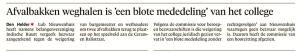 Helderse Courant, 18 augustus 2017