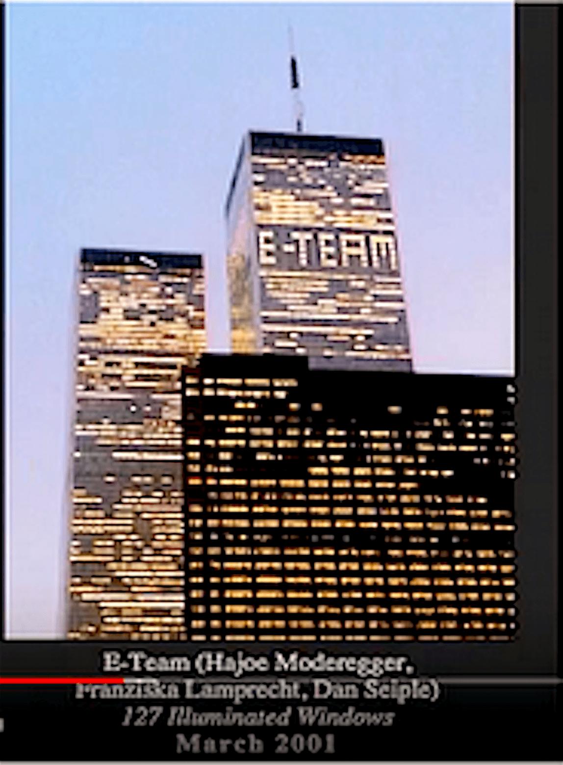 E-Team + 127 Illuminated Lights (foto YouTube)