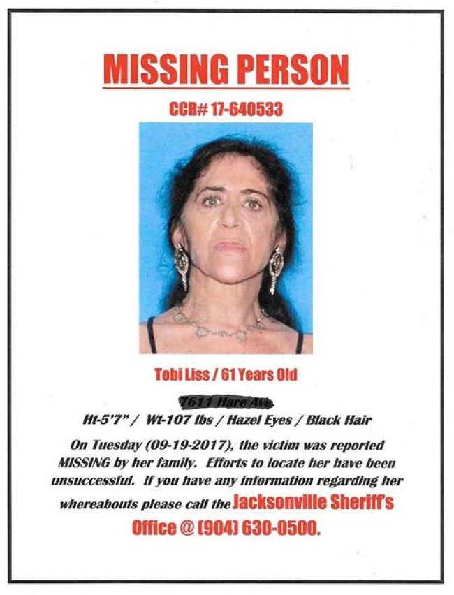 Missing Person CCR# 17-640533 (foto Before It's News)