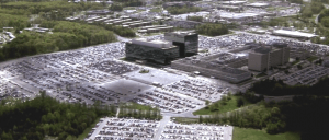 NSA headquarters at Fort Meade — Enemy of the State (foto Medium:Insurge Intelligence)