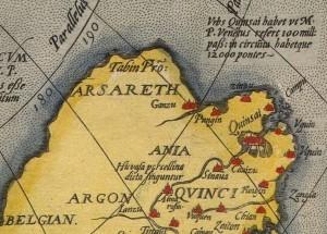 Ortelius - Asiae 1574 (detail)