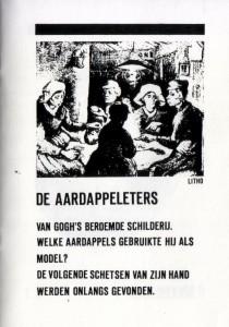 'De modellen van Van Gogh' De aardappeleters