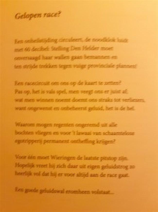 Joop Leijbbrand - Gelopen race