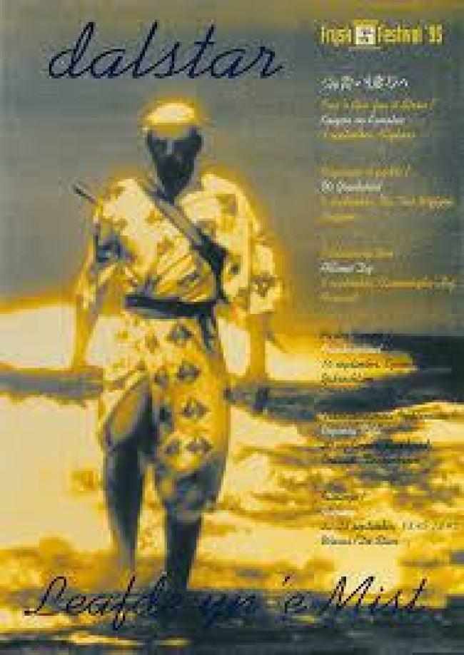 Koos Dalstra, Affiche Frysk Fesival 1995 (foto Gerard Groenewoud)