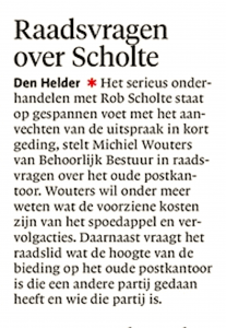 Noordhollands Dagblad, 16 november 2017