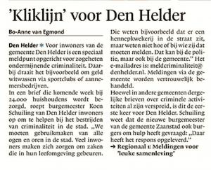 Helderse Courant, 16 december 2107