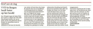 Alkmaarse Courant, 13 december 2017