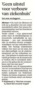 Alkmaarse Courant, 1 december 2017